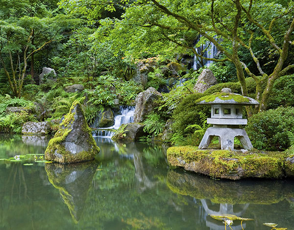 Portland Japanese Garden at OR