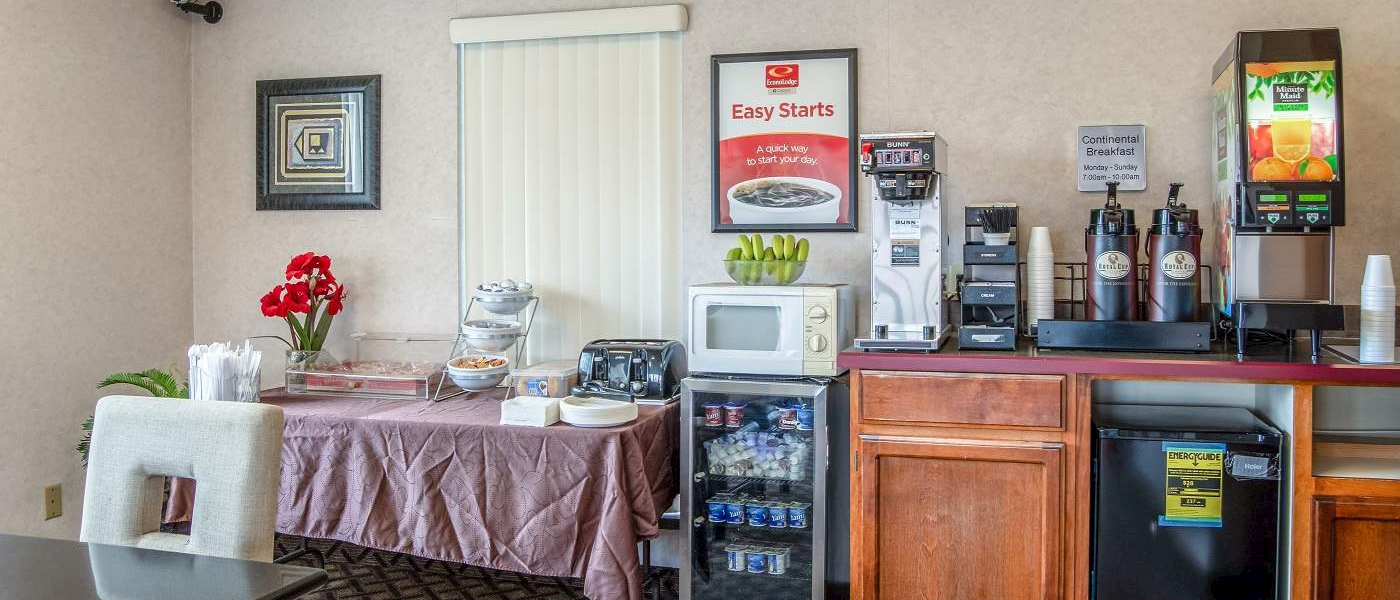 Services at Econolodge South East Portland, Oregon